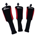 Palm Springs Golf Deluxe Headcover Set 1-3-5 RED