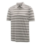 Ashworth Striped Interlock Polo