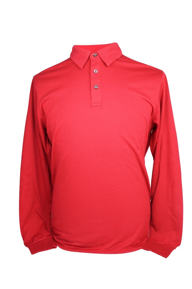 Ashworth Mens Longsleeve Golf Polo Shirts Medium Ebay