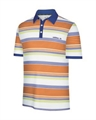 Adidas Kids Stripe Polo