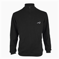 Woodworm 1/2 Zip Sweater BLACK