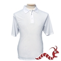 Woodworm Golf Plain Polo Shirt WHITE
