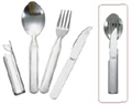 4 Piece Cutlery Set by Camping.co.uk