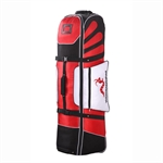 Woodworm Golf Deluxe Travel Cover RED/BLACK