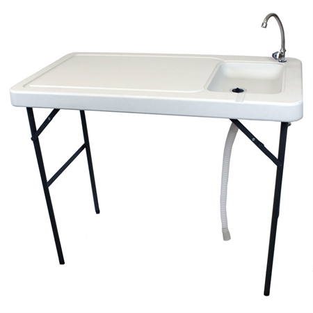 Plastic Portable Sink : furniture plastic tables palm springs folding plastic table with sink ...
