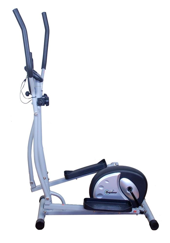 space saving elliptical machine