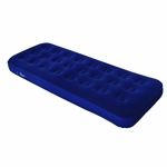 North Gear Single Flocked Air Bed Mattress