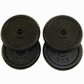 Confidence 20kg Cast Iron Weight Plates (4 x 5kg)
