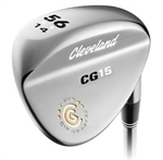 Cleveland Golf CG15 Satin Chrome Wedges LEFTY