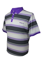 Adidas Mens Engineered Stripe Polo