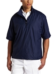 Callaway Gust Short-Sleeve 1/4 Zip WindShirt Navy