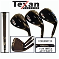 Texan Golf Gun Metal 3 Wedge Set 56°-60°-64°