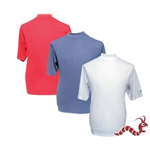 Woodworm Golf Short Sleeve Mock Shirt 3 pack