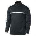 Nike Golf 1/2 Zip Therma Fit Cover Up - Blk/White