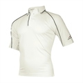 Woodworm Cricket 09/10 Junior Shirt NAVY TRIM
