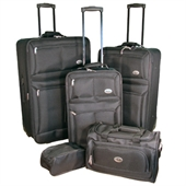 Confidence Luggage 5 Piece Suitcase Set