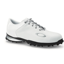 Oakley Blast WP Leather Golf Shoes - White