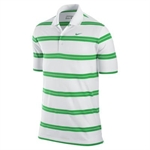 Nike Mens Bold Stripe Polo White