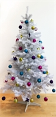Homegear 6ft White Artificial Christmas Tree - Image 1