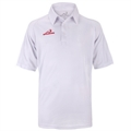 Woodworm Pro Cricket Short Sleeve Shirt White