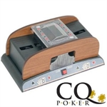 CQ Wooden Effect Automatic Card Shuffler