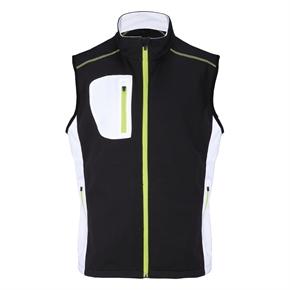 Woodworm Golf Full Zip Soft Shell Vest