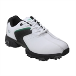 Forgan Leather III Golf Shoes - White/Black