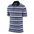 Nike Mens Stretch UV Stripe Polo Black