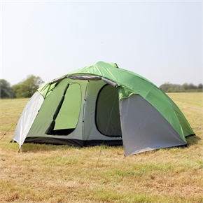North Gear Holiday Lux 8 Man 2 room tent