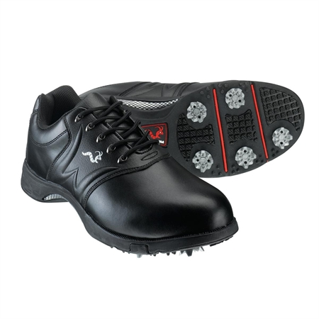 Woodworm Golf PLAYER Golf Shoes BLACK