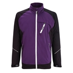 PING Response Waterproof Golf Jacket - Purple/Blk