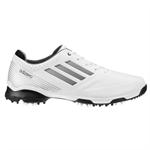 Adidas Adizero 6 Spike Golf Shoes - White Silver