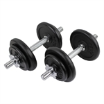 Confidence 20kg/44lbs Dumbbell Weights Set